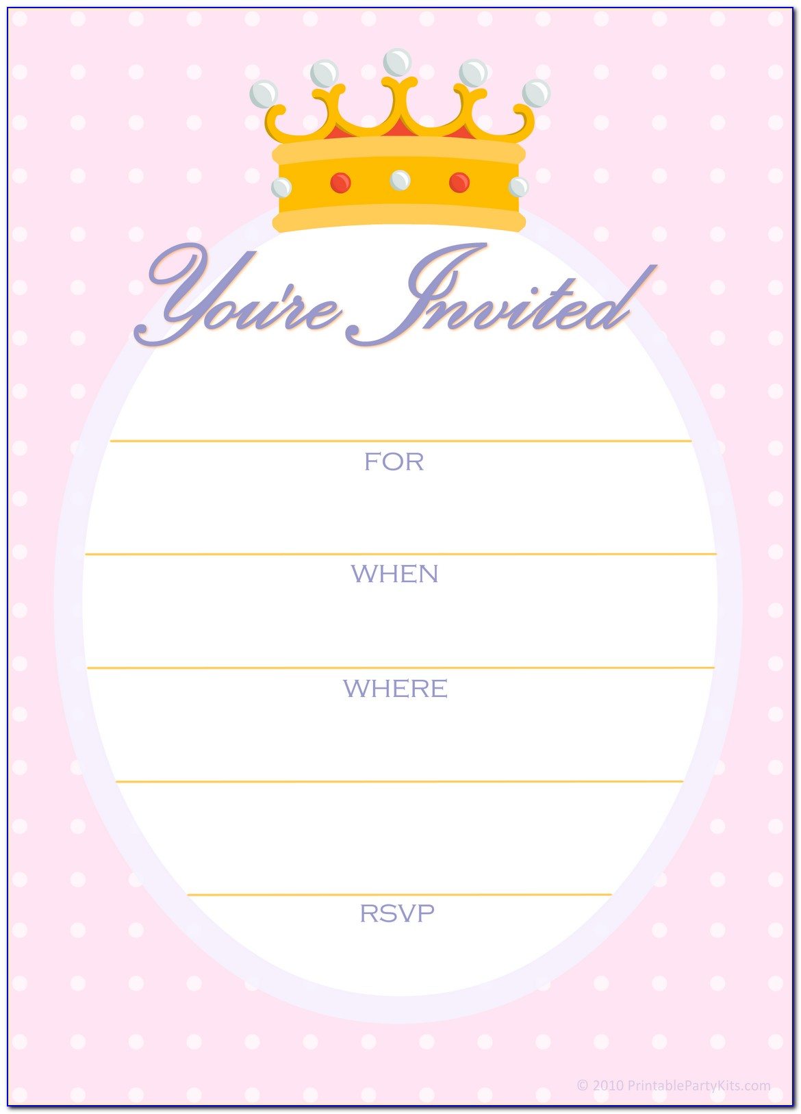 Birthday Party Invitation Templates Movie Theme