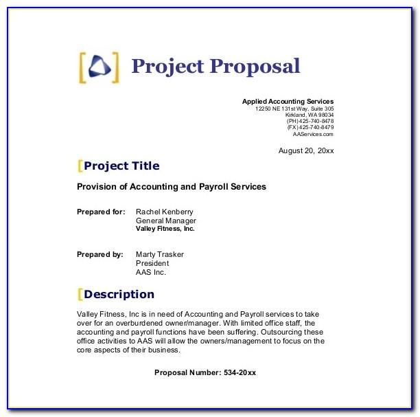 Business Proposal Sample Pdf