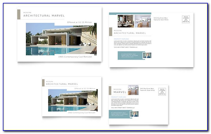 Commercial Real Estate Postcard Templates
