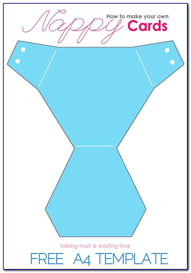 Diaper Invitation Template Free Printable