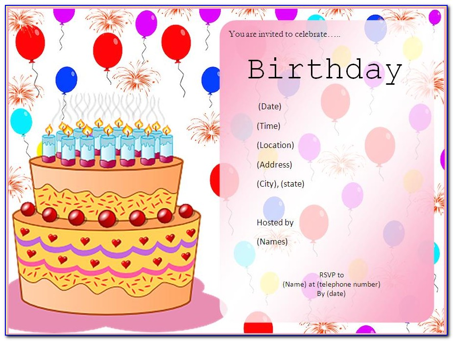 Editable Birthday Invitations Templates Free Spiderman