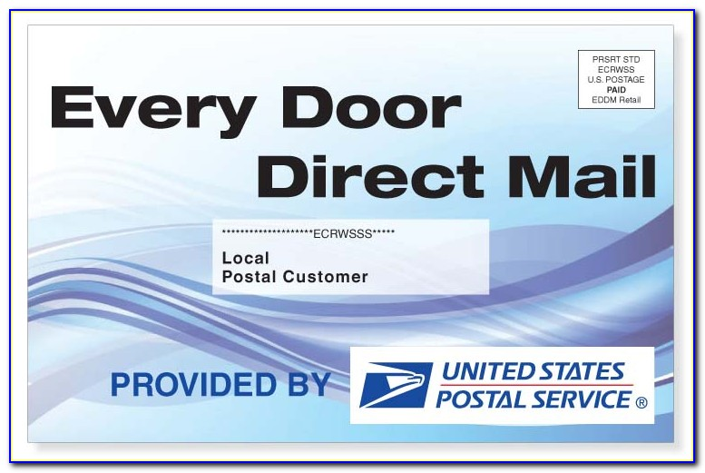 Every Door Direct Mail Postcard Template