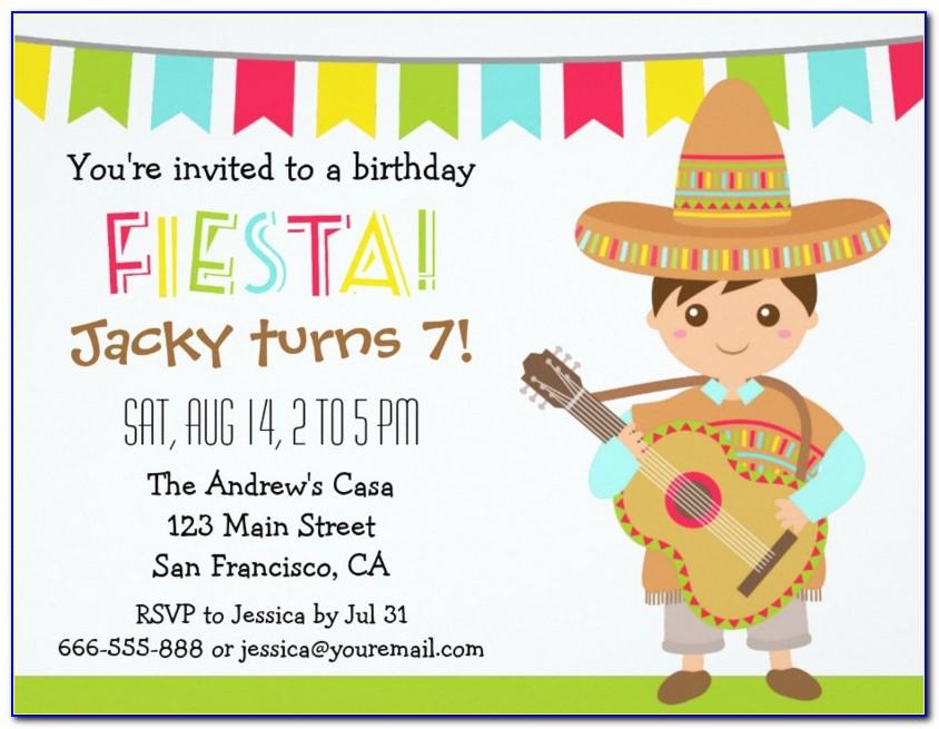 Filipino Fiesta Invitation Template