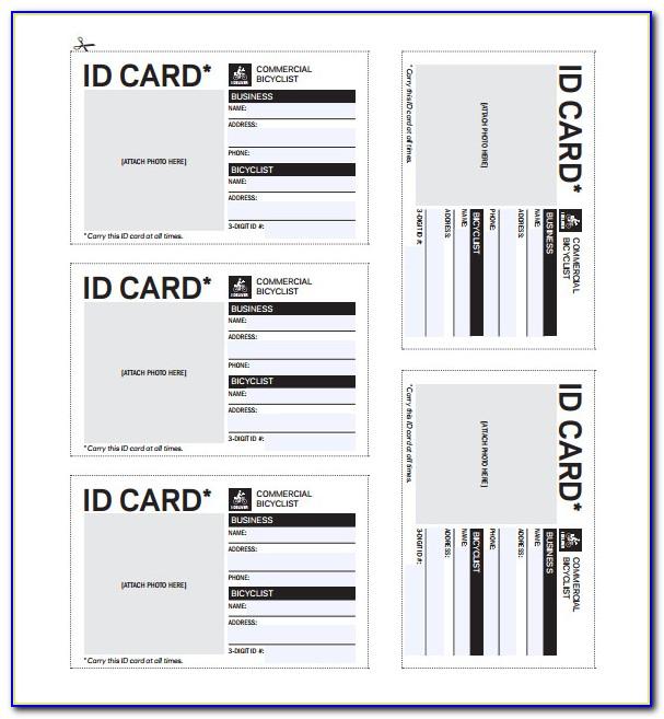 Free Id Badge Template Microsoft Word