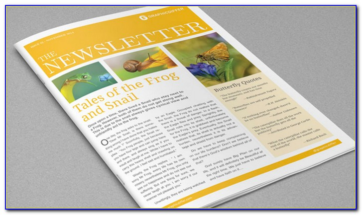 Free Indesign Newsletter Templates Cs5
