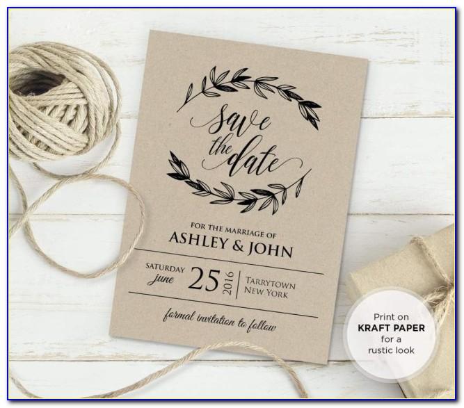 Wedding Invitations Templates Free Rustic Vintage Wedding Invitation Templates Bridal Wedding