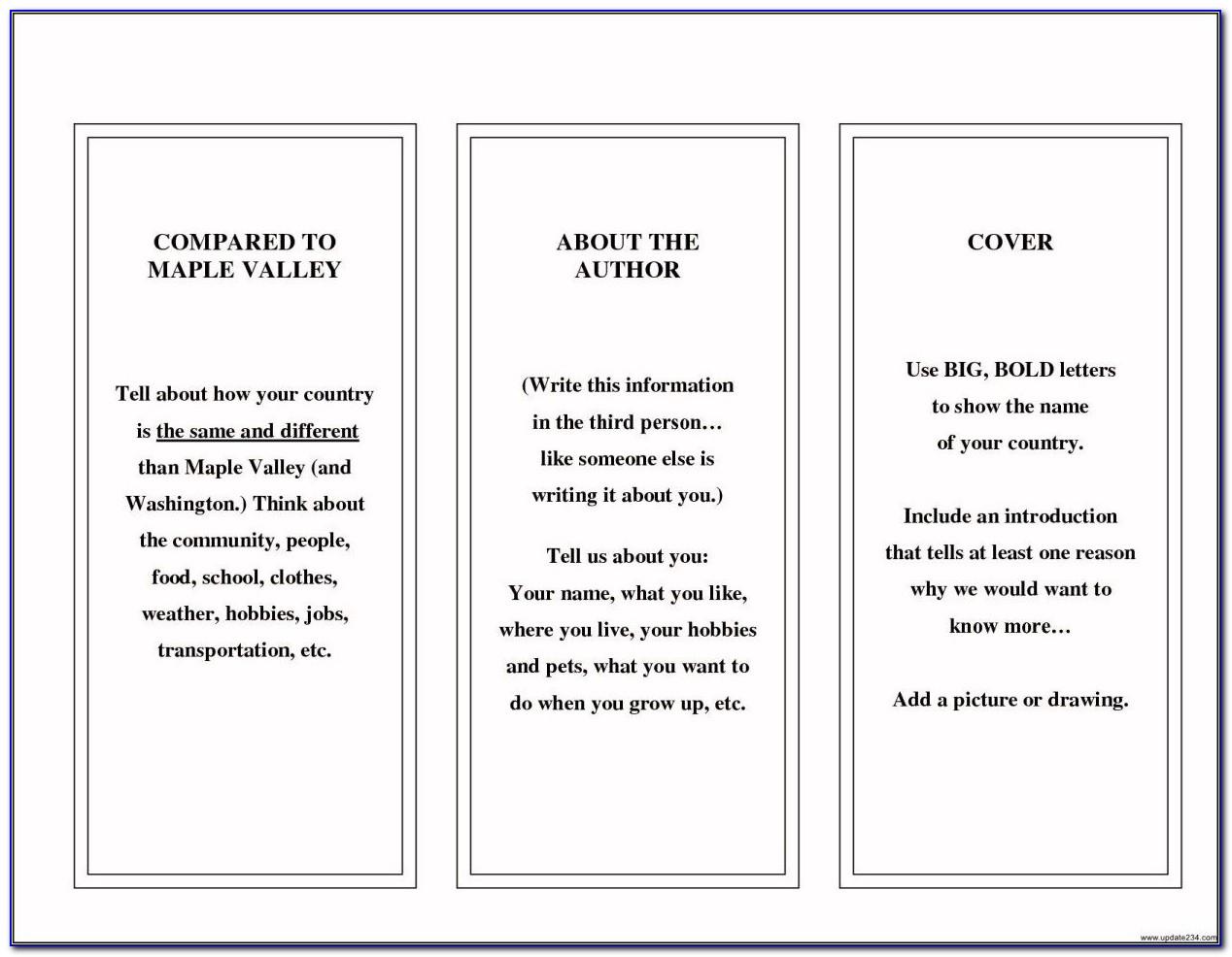 Free Printable Brochure Templates For Word