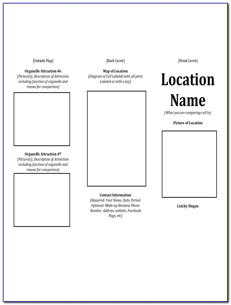 Free Printable Brochure Templates Pdf