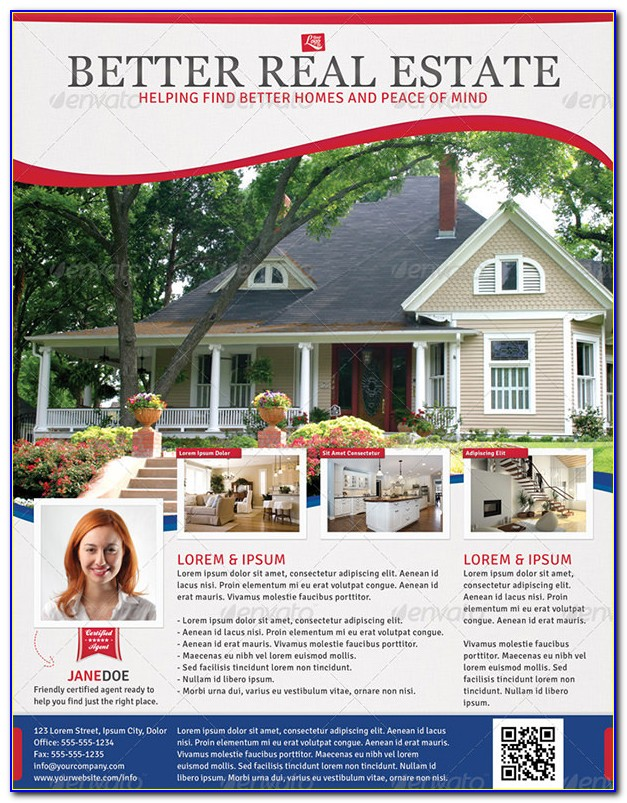 Free Real Estate Brochure Template Word
