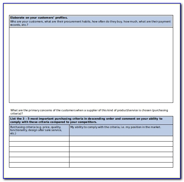 Free Simple Business Plan Template Word