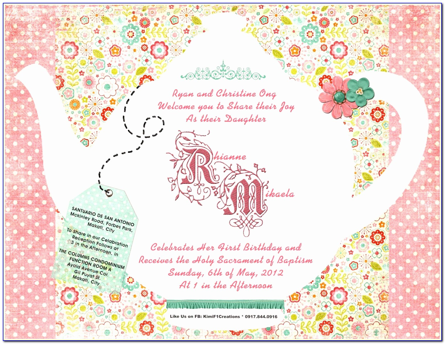 Tea Party Invitation Template Design Vintage Party Invitation Templates Lovely Pdf Word Excel Download Templates Paete