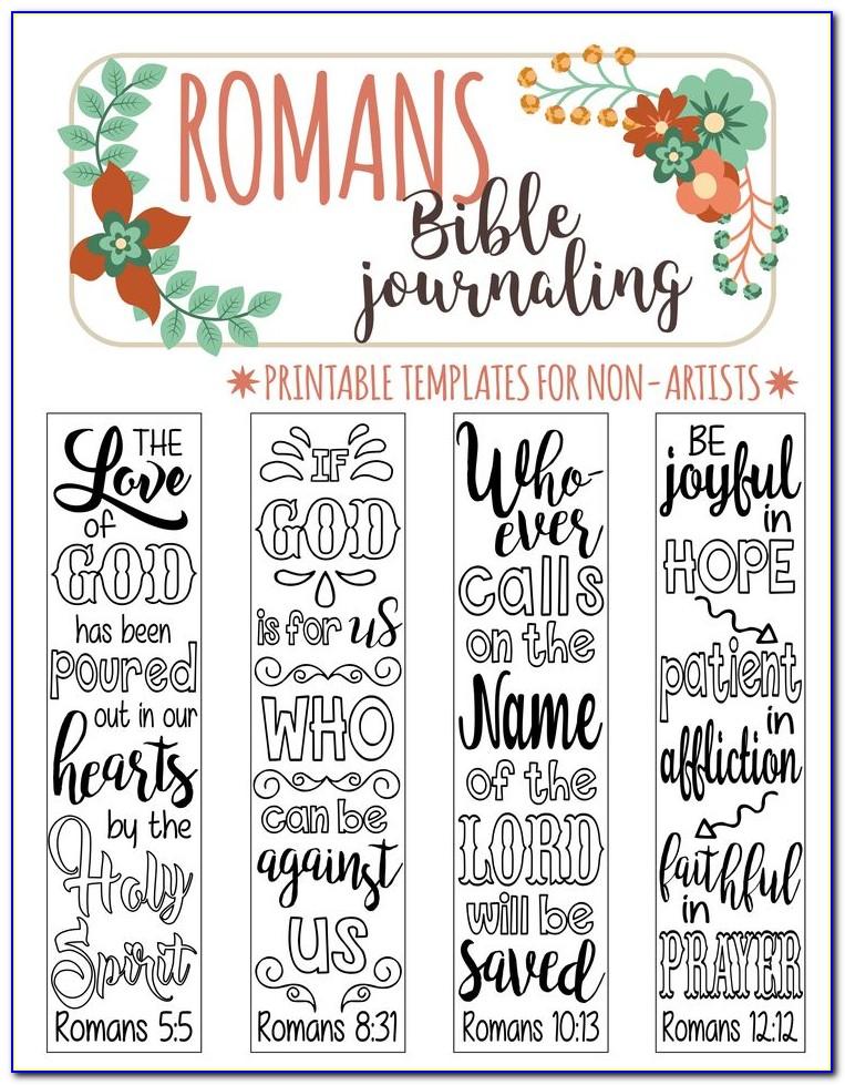 Genesis Bible Journaling Templates