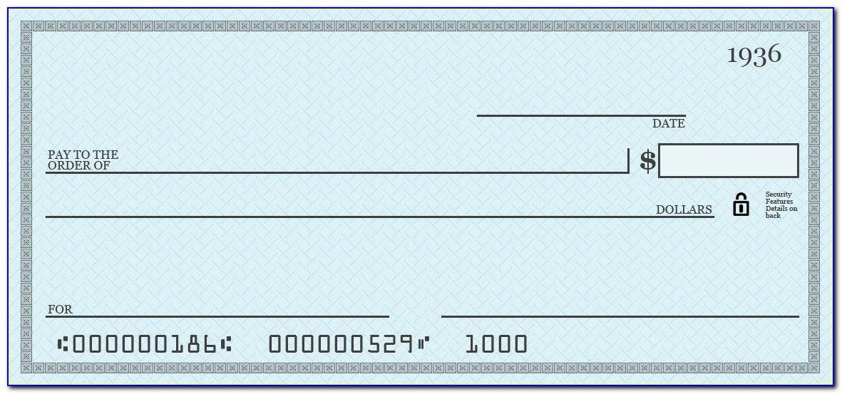 Giant Check Template Free