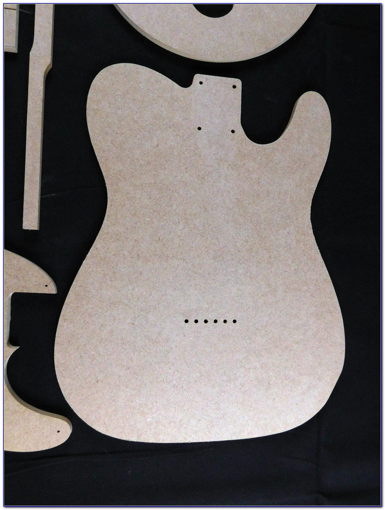Making Guitar Routing Templates