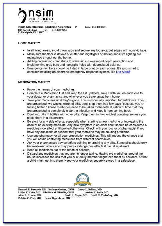 Medicare Annual Wellness Visit Checklist