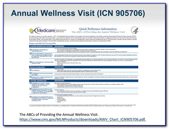 Medicare Annual Wellness Visit Template 2019