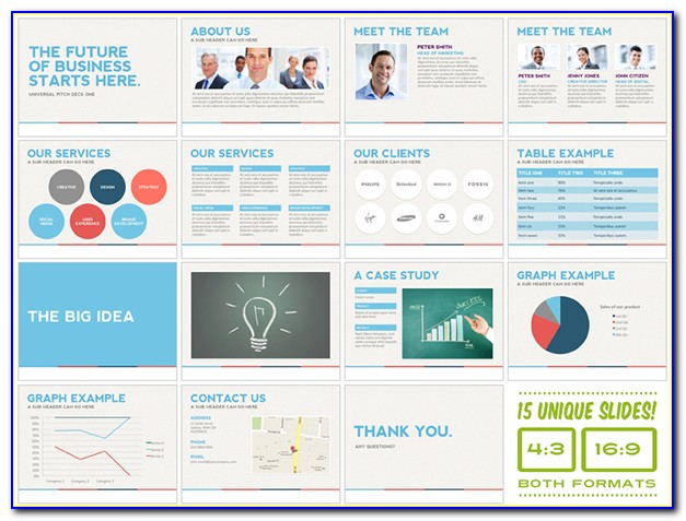Pitch Deck Template Ppt Download