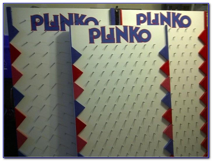 Plinko Board Template