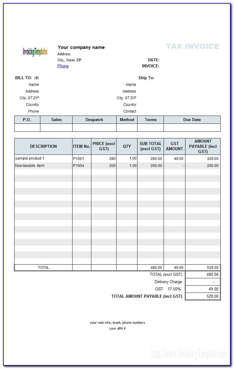 Quickbooks Custom Estimate Template