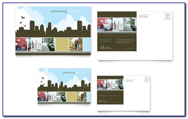 Real Estate Investor Postcard Templates