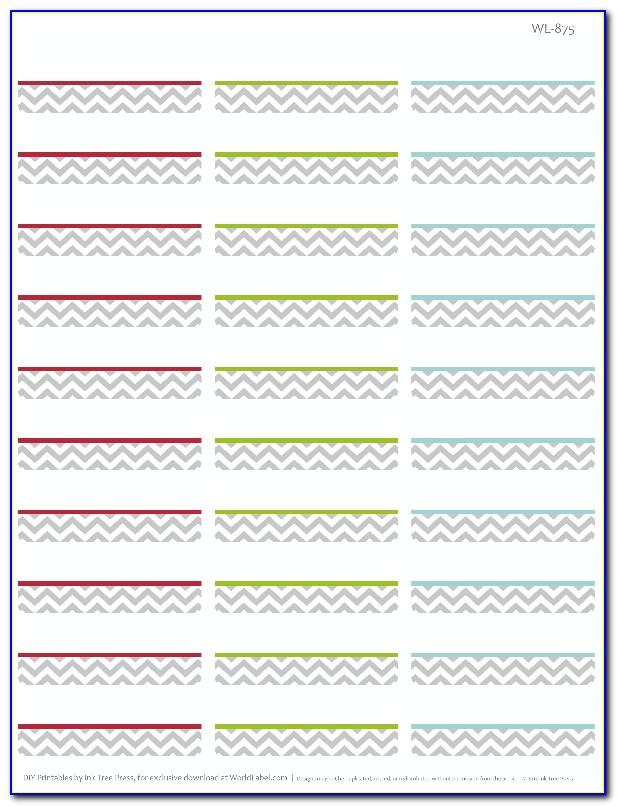 Return Address Labels Template 80 Per Sheet