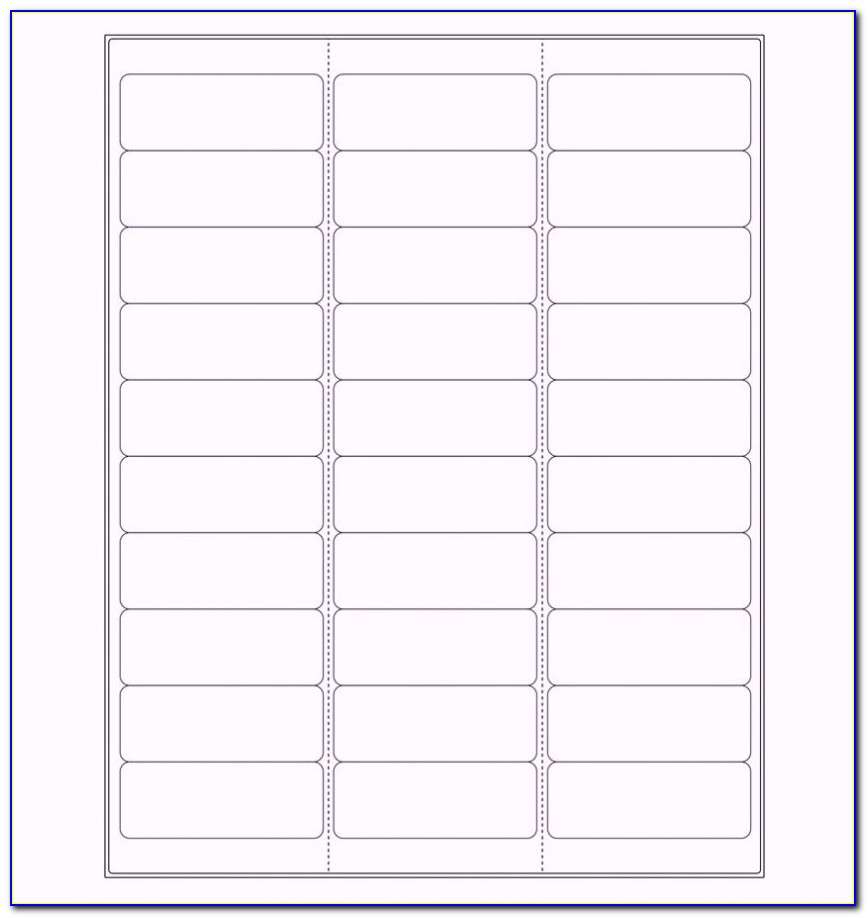 Return Address Labels Template Excel