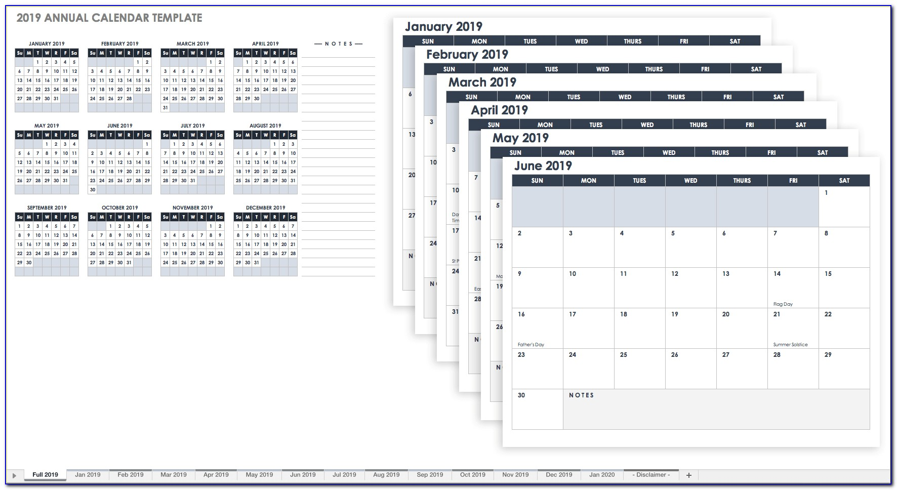 Save The Date Calendar Template Online