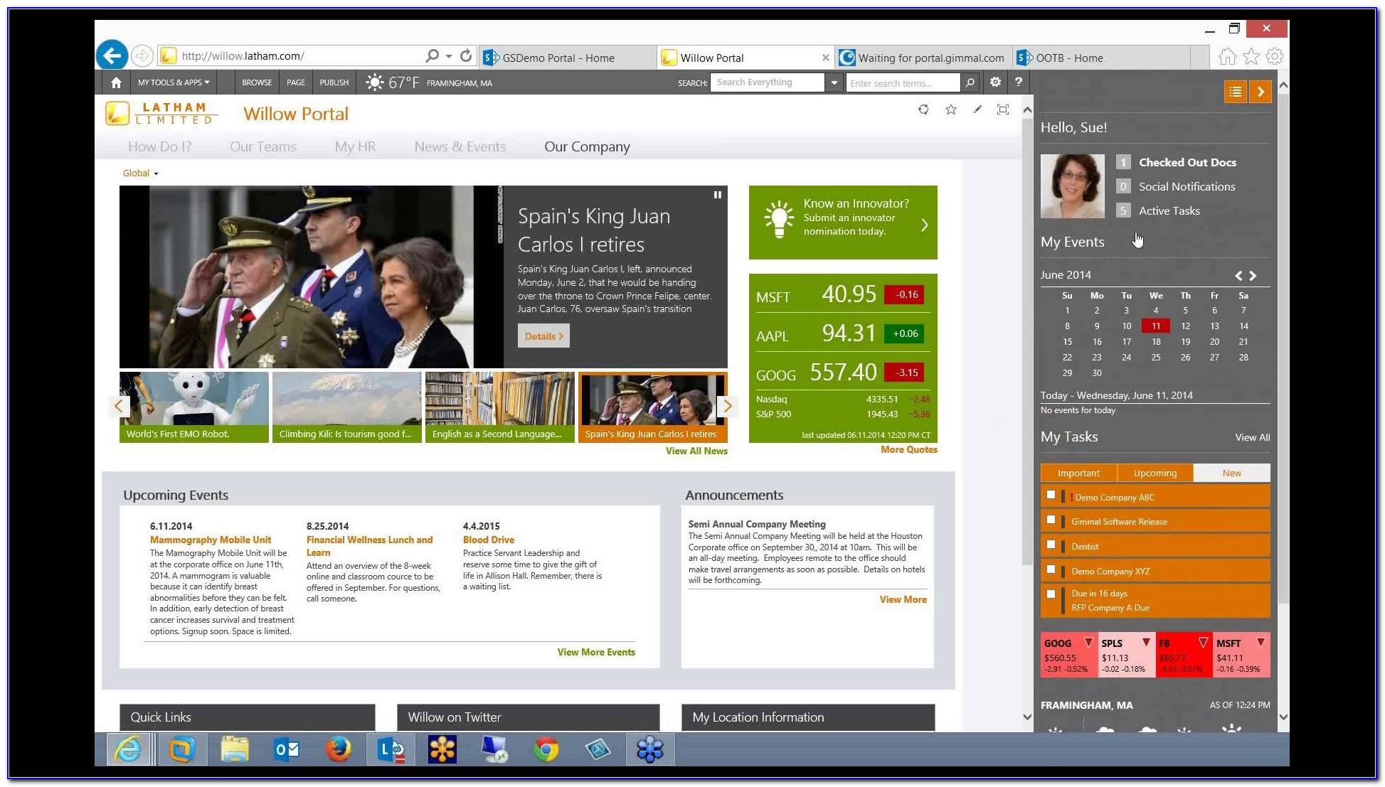 Sharepoint Intranet Templates Download