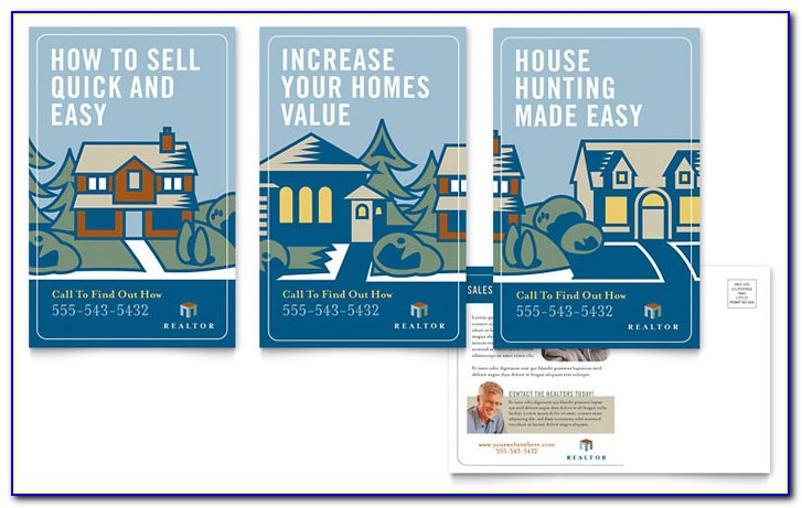 Vistaprint Real Estate Postcard Templates