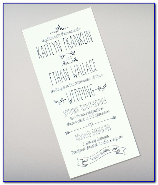 Wedding Invitation Template Downloadable