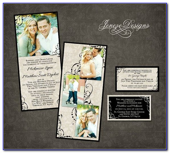 Wedding Invitation Templates Photoshop Download Free