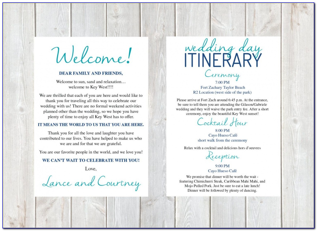 Free 001 Wedding Welcome Letter Template Itinerary Within ~ Ulyssesroom Destination Wedding Welcome Letter Template Pdf