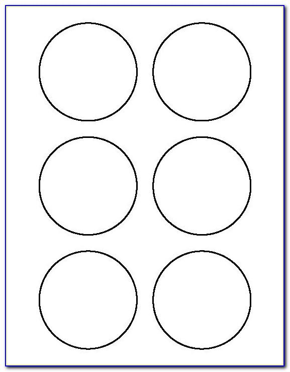 2 Inch Circle Template Avery