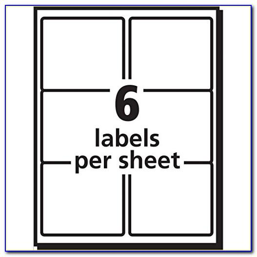 3x4 Label Template Word