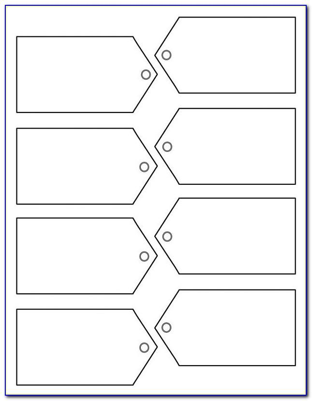 3x4 Labels Template