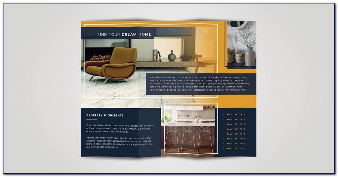 8.5 X 11 Tri Fold Brochure Template Illustrator