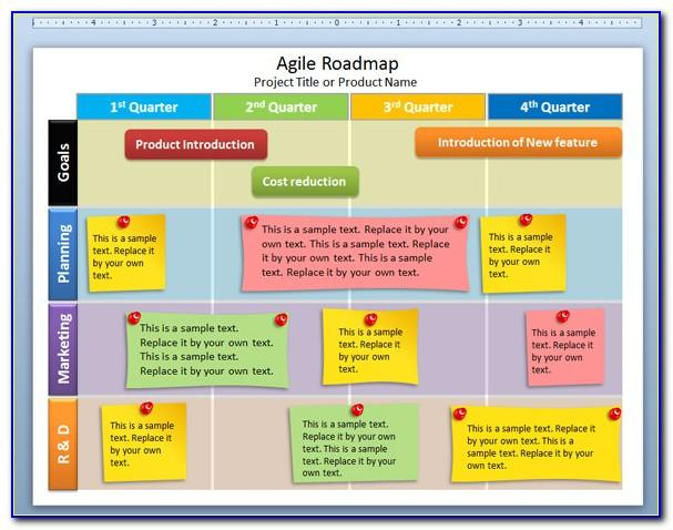Agile Roadmap Template Excel Free Download