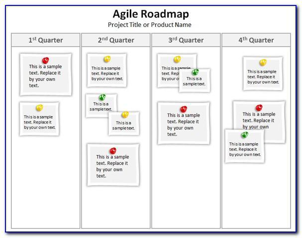 Agile Roadmap Template Excel