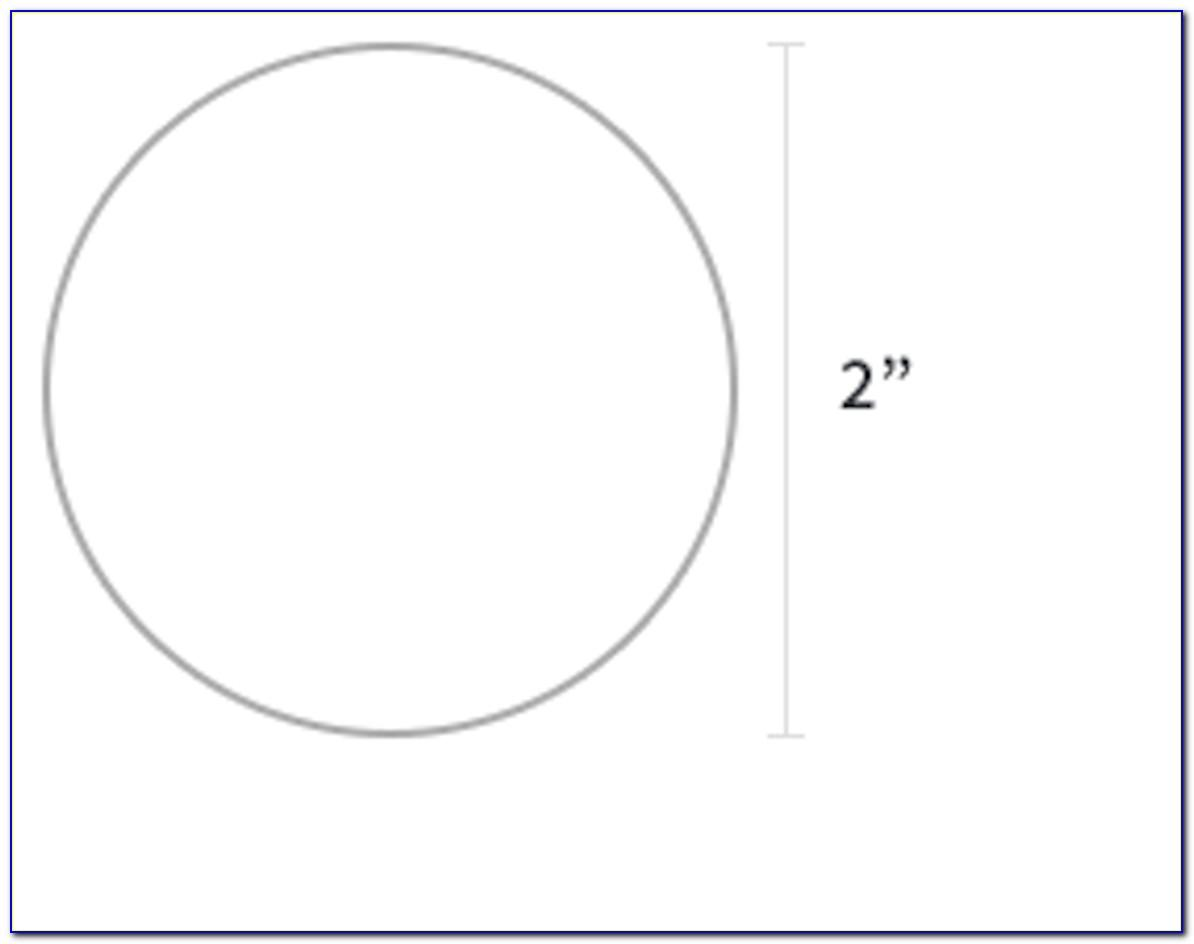 Avery 2 Inch Round Label Template