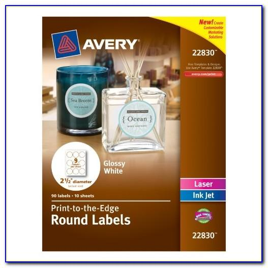 Avery Circle Labels 2 Inch Template