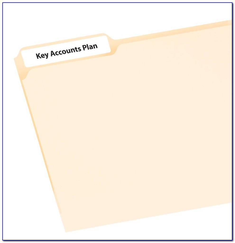Avery File Folder Label Template 5966