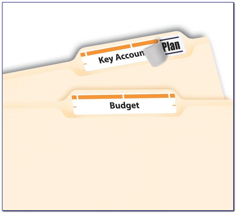 Avery File Folder Label Template 6466