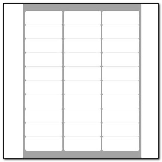 Avery Mailing Labels 5160 Template For Mac
