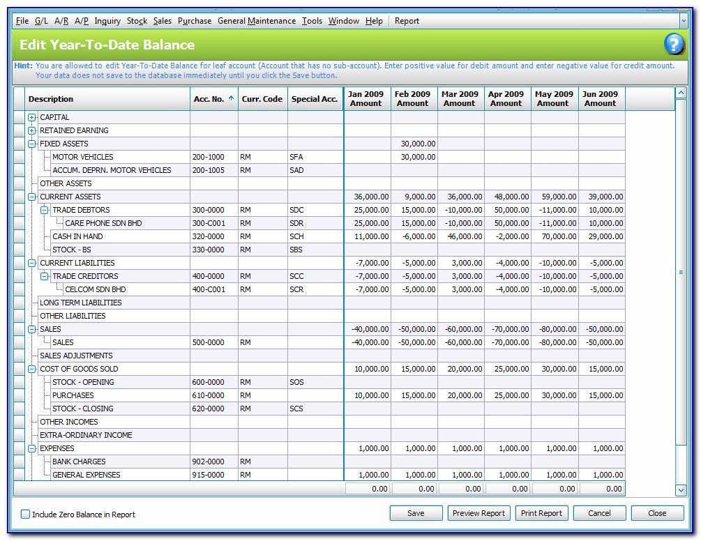 Balance Sheet Reconciliation Template Uk