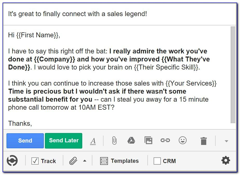 Best Cold Call Email Templates