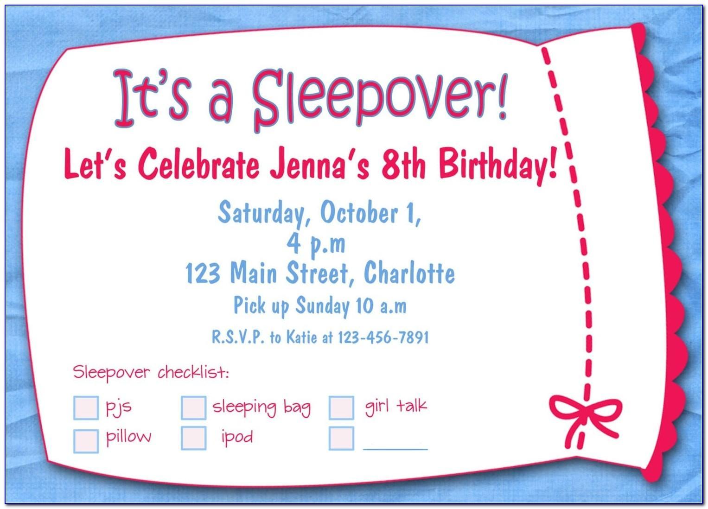 Birthday Invites Templates Free Download