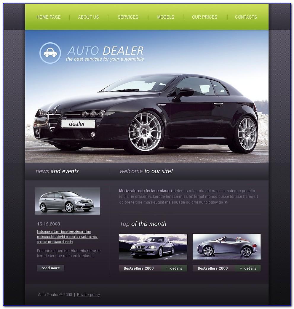 Car Dealer Website Templates Free Download