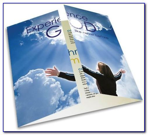 Church Brochure Template Psd