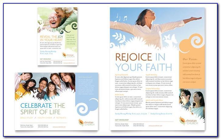 Church Brochure Template Publisher