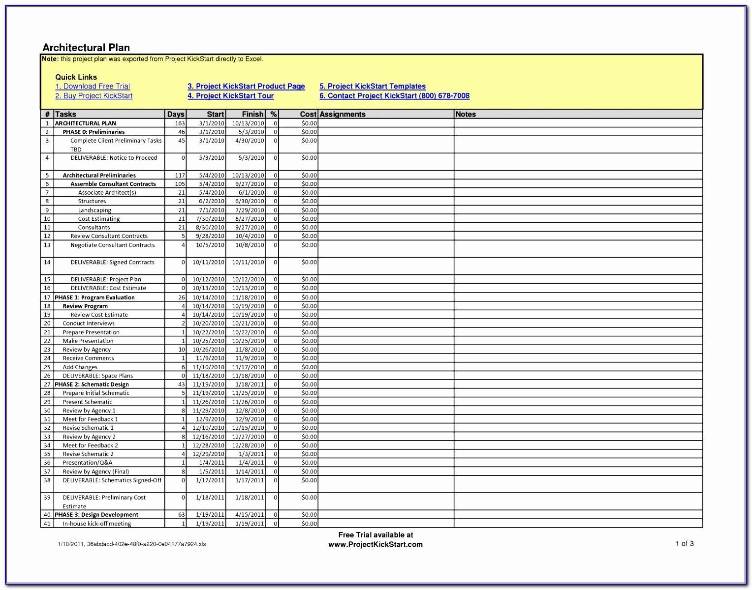 Civil Construction Excel Templates